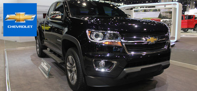 Excellent power options, fuel efficiency and style are just a few characteristics of the much anticipated 2015 Chevy Colorado. (PRNewsFoto/Barkau Automotive)
