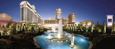 The largest Caesars Entertainment resort to receive a property tax incentive was Caesars Palace, a 6.9 million square foot resort and casino that received LEED Gold equivalency for introducing significant energy savings measures. (Photo courtesy of Caesars Entertainment)