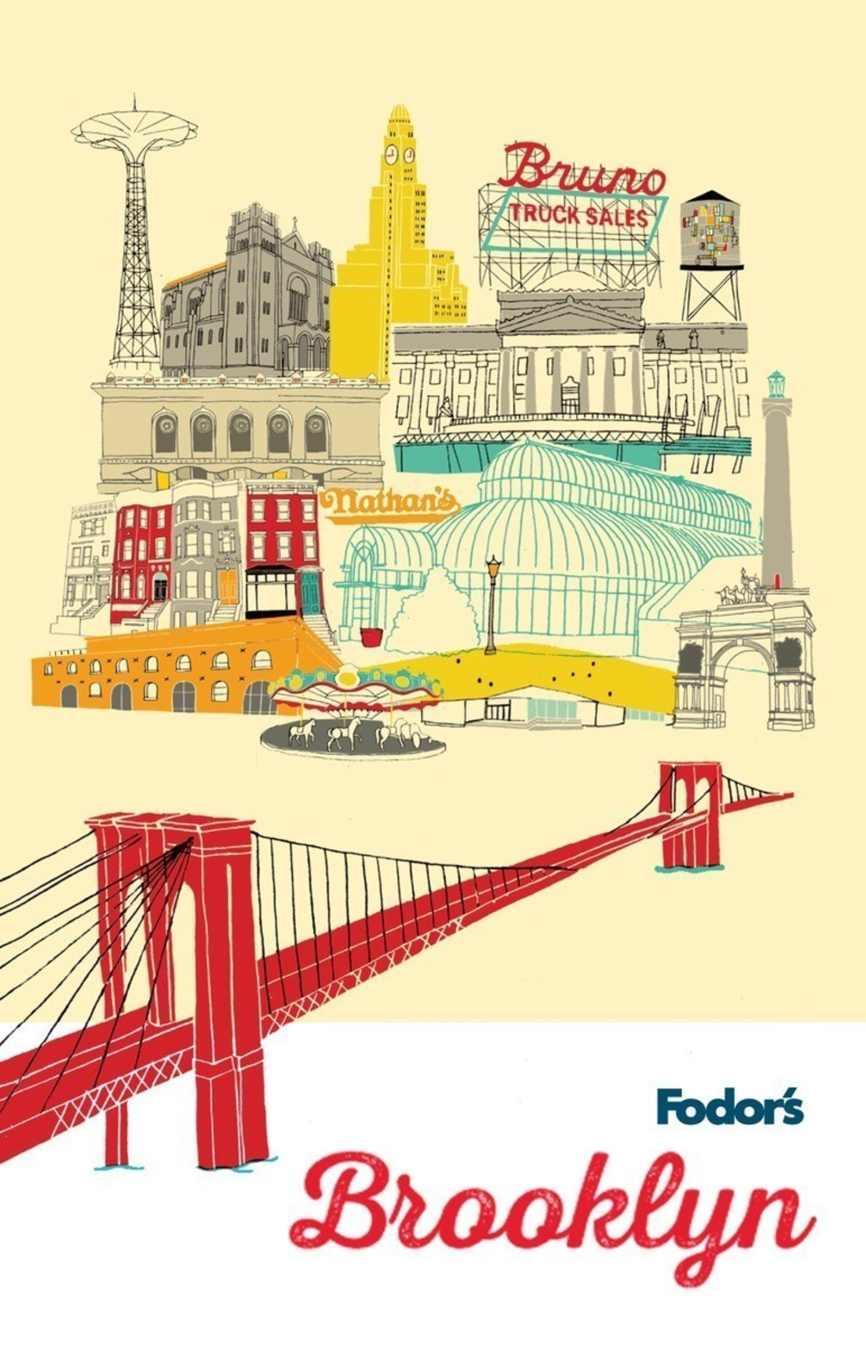 Fodor's Brooklyn, the first comprehensive guidebook to NYC's trendiest borough, goes on sale 9/15/15
