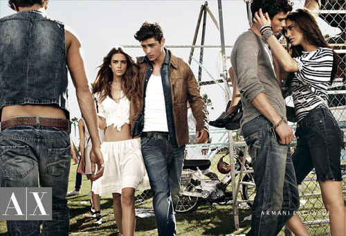 "Armani Exchange Spring 2011 Advertising Campaign ""Style Festival"" Styled by Kate Lanphear.  (PRNewsFoto/Armani Exchange)"