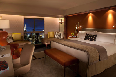 New room design unveiled as Millennium UN Plaza Hotel, New York, announces major renovation project. The first $30-million phase will debut a luxury West Tower in September 2012.  (PRNewsFoto/Millennium Hotels and Resorts)