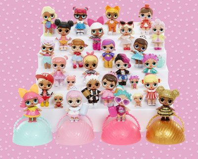 L.O.L. Surprise!(TM) dolls are fierce, fashion-forward and packed with personality. From rockers to divas to merbabies, L.O.L. Surprise!(TM) has collectability all rolled up in a ball playset and purse
