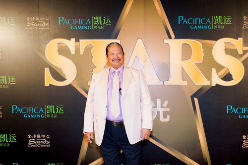 Sammo Hung walks the red carpet Saturday at Sands Cotai Central in Macao, China.  (PRNewsFoto/Sands China ...