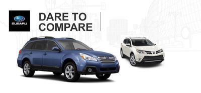 Briggs Subaru has given car shoppers a new resource for comparing and contrasting 2014 Subarus.  (PRNewsFoto/Briggs Subaru)