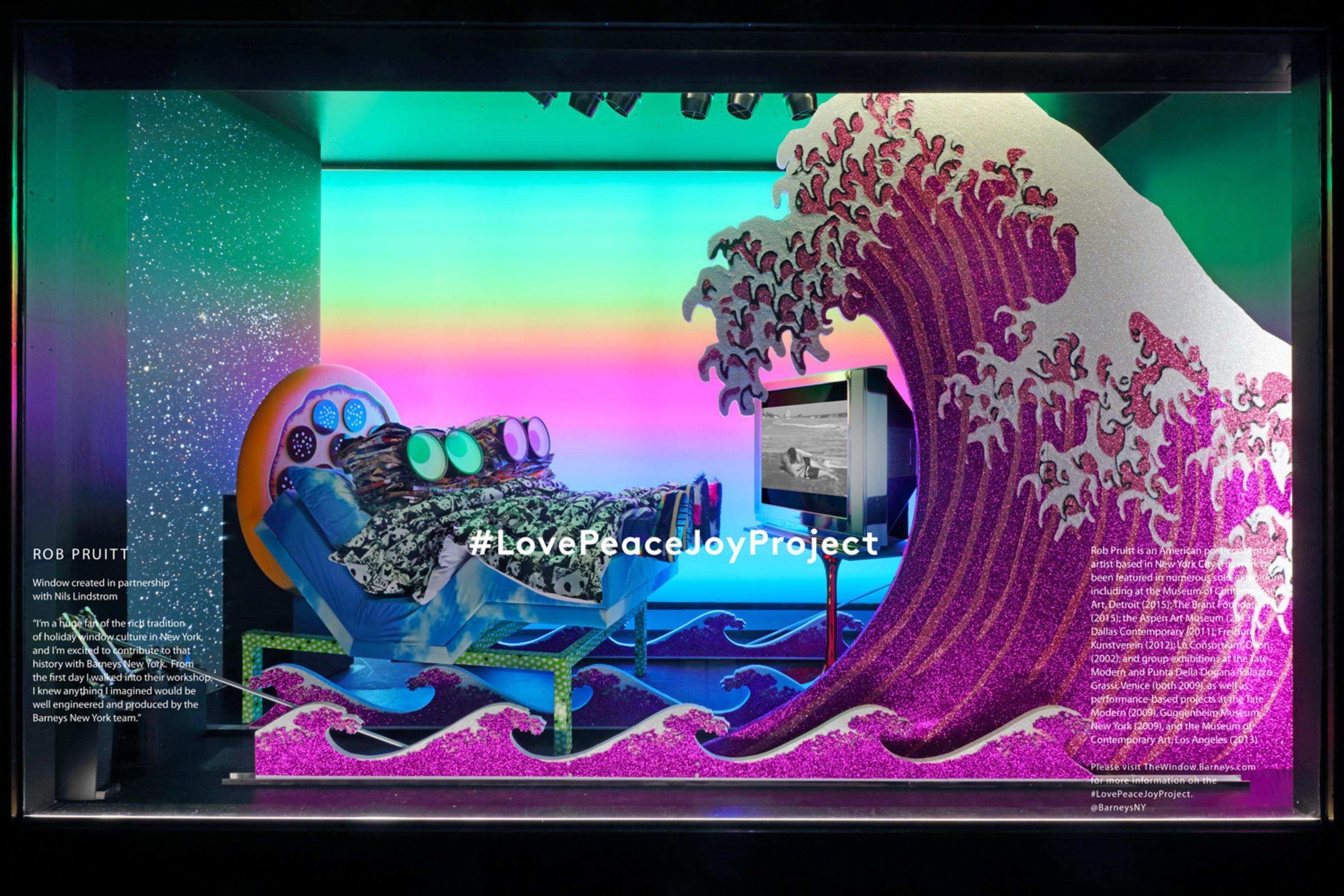 Barneys New York Madison Avenue Holiday Window - Rob Pruitt