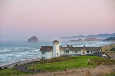 To experience the 25-acre Nestucca Sea Ranch is to experience life in a postcard (PRNewsFoto/Concierge Auctions)