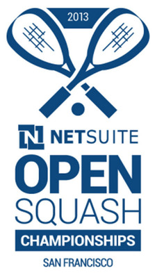 NetSuite Open Returns to San Francisco Sept. 25-Oct. 1, 2013 to San Francisco's South Lawn of Justin Herman Plaza on an All-Glass Portable Squash Court.