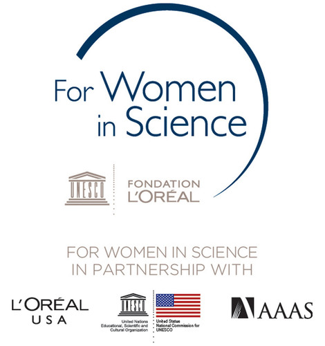 L'Oreal USA For Women In Science Logo. (PRNewsFoto/L'Oreal USA) (PRNewsFoto/L'OREAL USA)