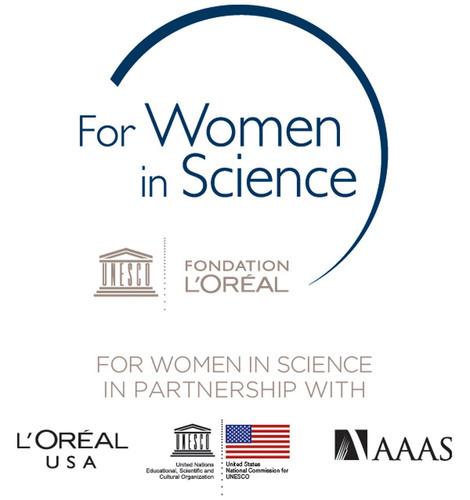 L'Oreal USA For Women In Science Logo.  (PRNewsFoto/L'Oreal USA)