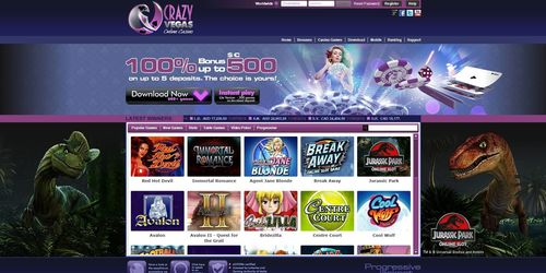 Crazy Vegas Casino launches a simpler way to play in your browser and a winning new offer (PRNewsFoto/Crazy Vegas Casino)