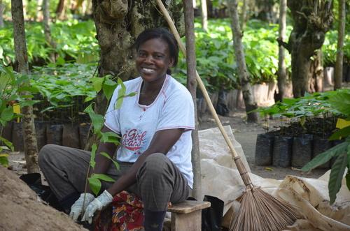 Promoting women's empowerment has been a cross-cutting theme in Mondelez International's Cocoa Life ...