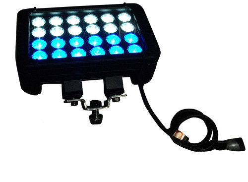 Larson Electronics Releases of Dual Color LED Light Bar with White and Blue LEDS