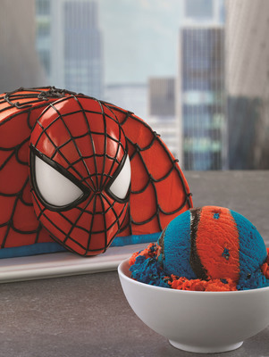 Baskin-Robbins Celebrates The Start Of The Summer Movie And Ice Cream Seasons With The Amazing Spider-Man 2(TM). (PRNewsFoto/Baskin-Robbins) (PRNewsFoto/BASKIN-ROBBINS)