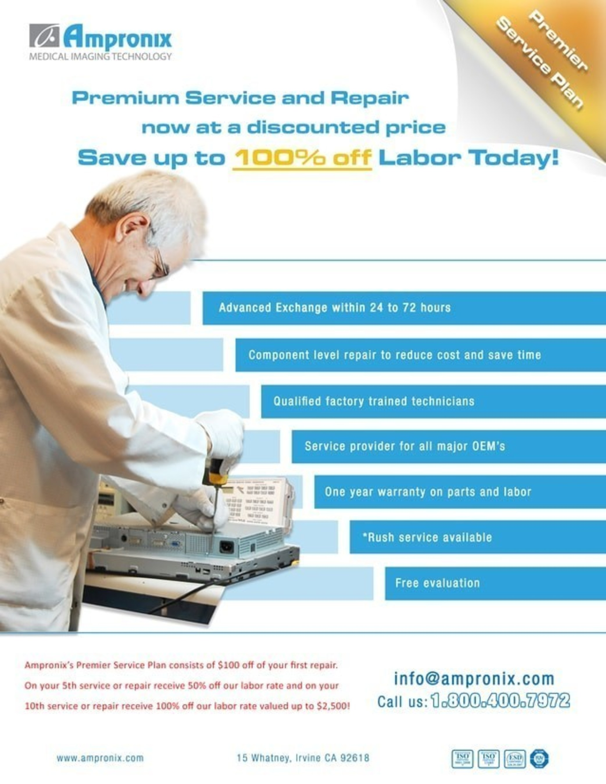 Medical Product Equipment Service and Repair