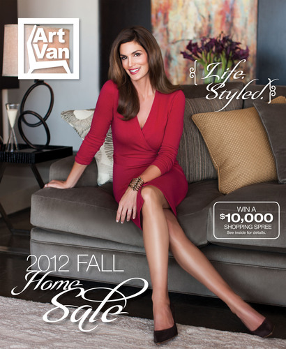 2012 Art Van Fall Catalog.  (PRNewsFoto/Art Van Furniture)