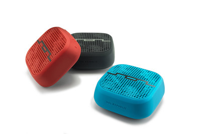 SOL REPUBLIC has announced the new PUNK wireless speaker, an ultra-portable compact speaker that brings a rugged construction, all-day battery life and is incredibly loud for its size. Great for bringing with you on the go, PUNK lets you bring and share you music anywhere. (PRNewsFoto/SOL REPUBLIC)