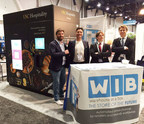 The WIB team at their SPREE RECon booth