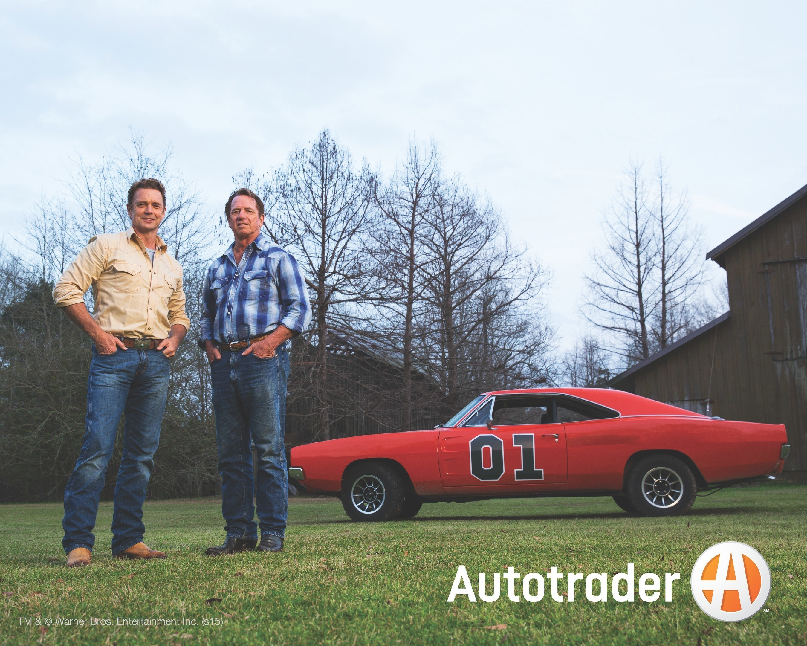 """Autotrader Enlists Stars of """"The Dukes of Hazzard"""" to Celebrate the Company's New Logo at Bristol Motor Speedway"""