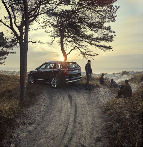 Volvo Cars and Avicii's love of Swedish calm and nature is clearly reflected in the new brand campaign (PRNewsFoto/Volvo Car Group)