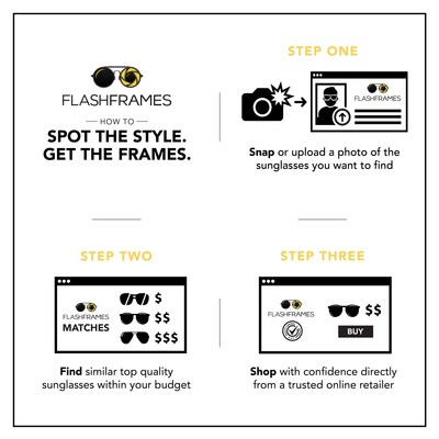 With three simple steps, shoppers can snap or upload a photo of frames they want, find options across price points from trusted online retailers and shop for the perfect pair to be sent for home delivery. It's the easiest way to spot the style of eyewear consumers want and get a pair of frames they love.