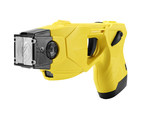 The TASER(R) X26P(TM) Smart Weapon. The use of TASER Conducted Electrical Weapons (CEWs) and Smart Weapons have saved more than 150,000 lives from potential death or serious injury.  Photo courtesy of TASER International, Scottsdale, AZ.