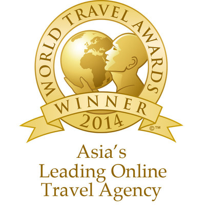 "Rovia has been recognized as ""Asia's Leading Online Travel Agency"" for 2014 by the World Travel Awards program. The awards ceremony was held on Friday, October 10 at The Oberoi, New Delhi. (PRNewsFoto/Rovia)"
