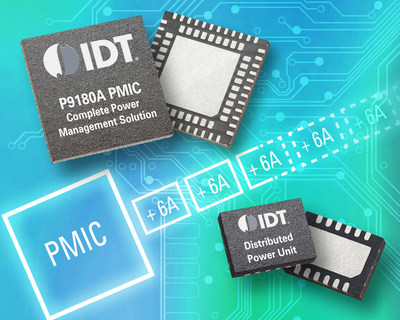 IDT Introduces Latest Generation Highly Integrated, Programmable and Scalable Power Management IC