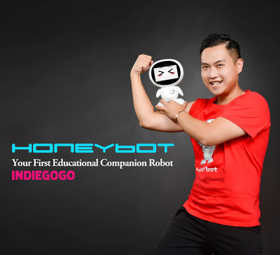 Honeybot, Family Educational Companion Robot is now available on Indiegogo.