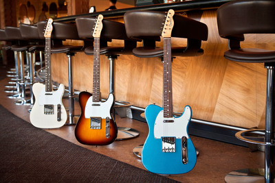 All New Fender American Vintage Series Available at Guitar Center.  (PRNewsFoto/Guitar Center)