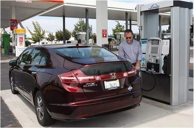 The Linde hydrogen station at West Sacramento, CA is the first station to be certified officially open according to the new criteria and the first in the U.S., to receive this designation.