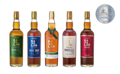 Kavalan Claims Top 5 Whiskies in the World at International Review of Spirits