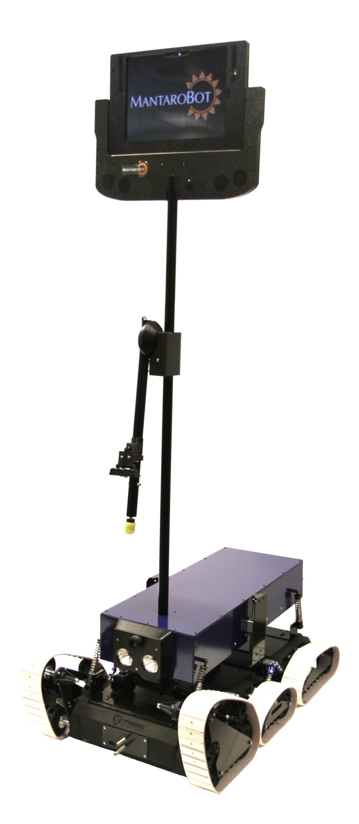 Mantaro Introduces the MantaroBot TeleTrak Telepresence Robot for Rugged Industrial, Manufacturing, and Construction Environments
