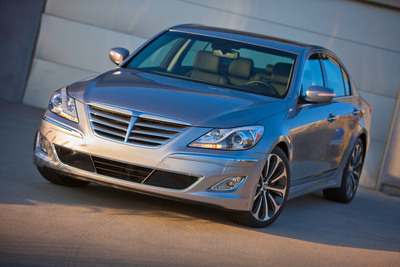 2014 GENESIS OFFERS ASSURANCE CONNECTED CARE TELEMATICS SERVICES WITH EXTERIOR AND INTERIOR ENHANCEMENTS.  (PRNewsFoto/Hyundai Motor America)