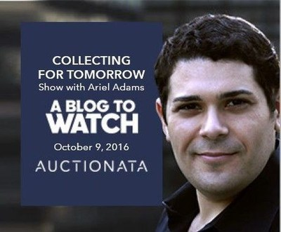 Auctionata presents Collecting for Tomorrow with Ariel Adams from aBlogtoWatch on October 9, 2016 (PRNewsFoto/Auctionata AG)