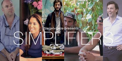 Simplifiers is a new series that explores how entrepreneurs, artists, and innovators embrace the power of simplicity.