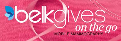 BelkGives On The Go Mobile Mammography.  (PRNewsFoto/Belk, Inc.)