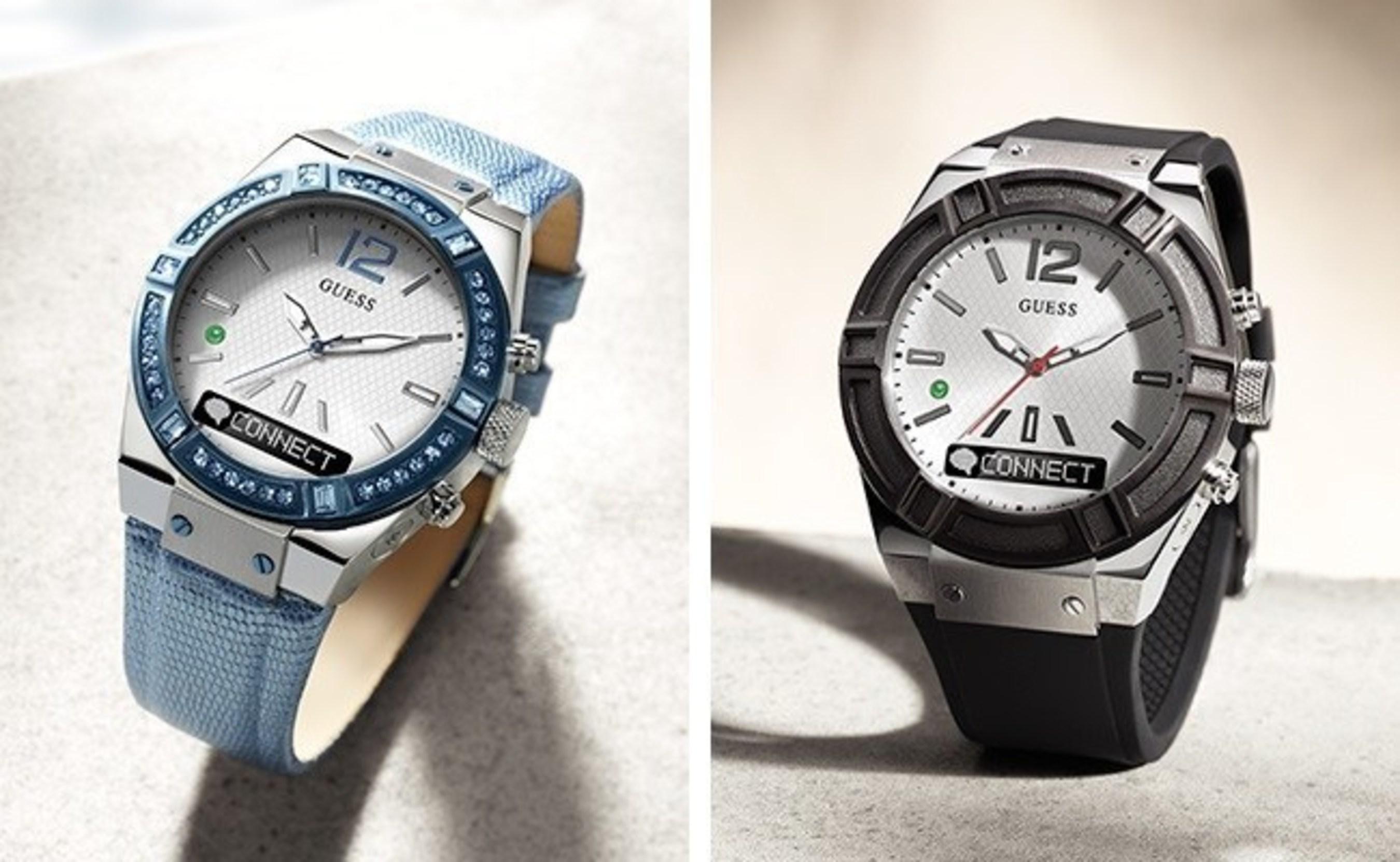 a224dfee356b0 Inteligentny zegarek GUESS CONNECT wprowadza świeżą kombinację kolorów w  sam raz na wiosnę