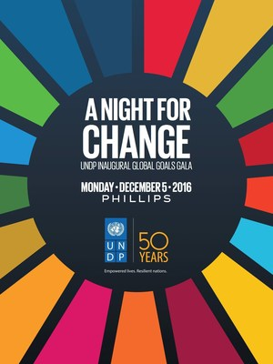 United Nations Development Programme Inaugural Global Goals Gala: A Night for Change, Dec. 5, 2016undp.org