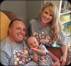Amber and Travis Imboden with their daughter Brinkley Elizabeth
