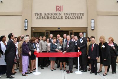 The Rogosin Institute Opens New Dialysis Center in Queens.  (PRNewsFoto/Rogosin Institute, Dominick Totino)