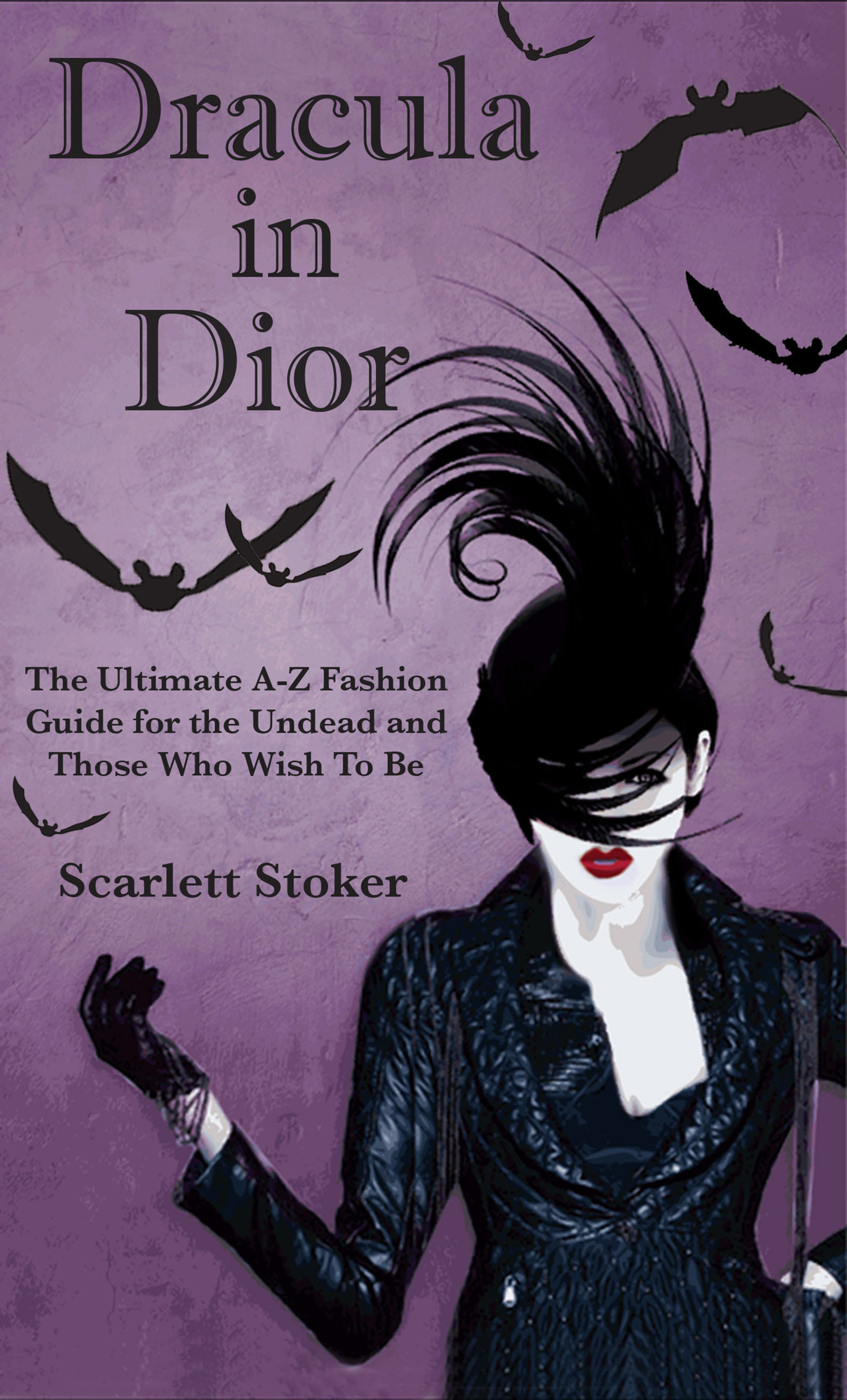 Dracula in Dior cover.  (PRNewsFoto/Scarlett Stoker)