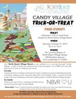 North Beach Village Resort Transforms Into Candy Village for Halloween Family Fun