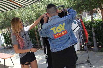 "Host LaurDIY explores Los Angeles for ""Destination: Disney Style"""