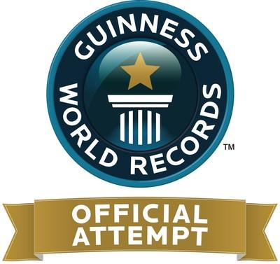 Liquid Church of NJ Guinness World Record Breaking Attempt on July 11, 2014. (PRNewsFoto/www.LiquidChurch.com)