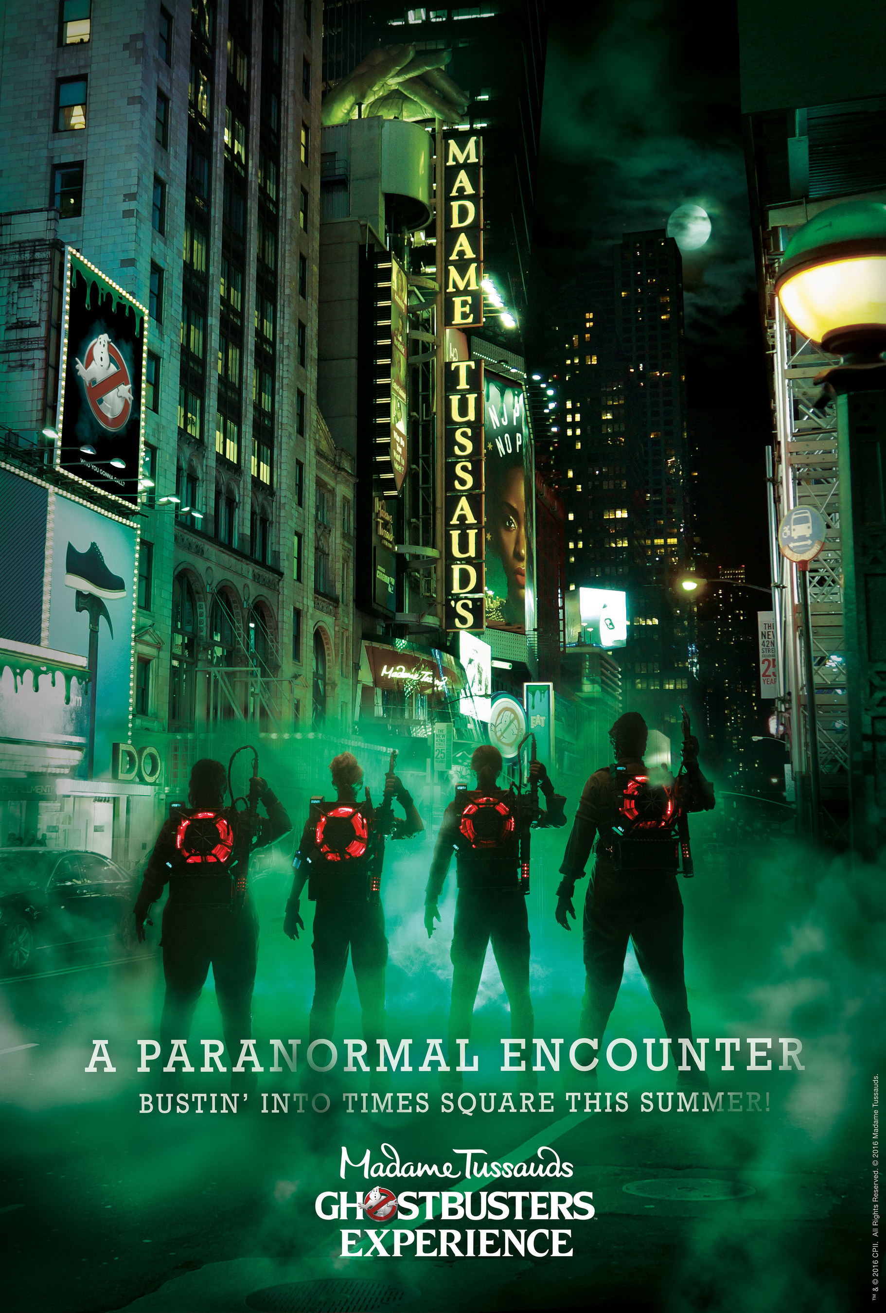 """Sony Pictures, Madame Tussauds New York And THE VOID Team For """"Ghostbusters""""-Themed Immersive, Virtual Reality Experience"""