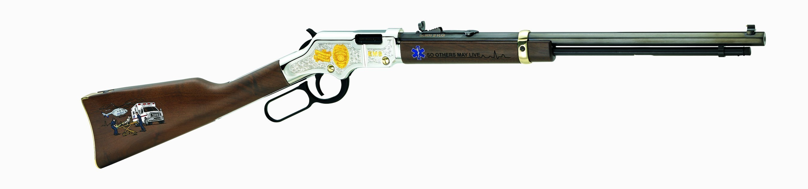Henry Repeating Arms introduces The Henry Golden Boy EMS Tribute Edition edition.