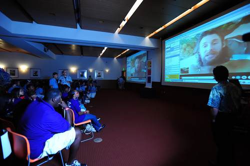 Fort Worth Museum of Science and History Makes History Through Skype With Plastiki Crew Leader