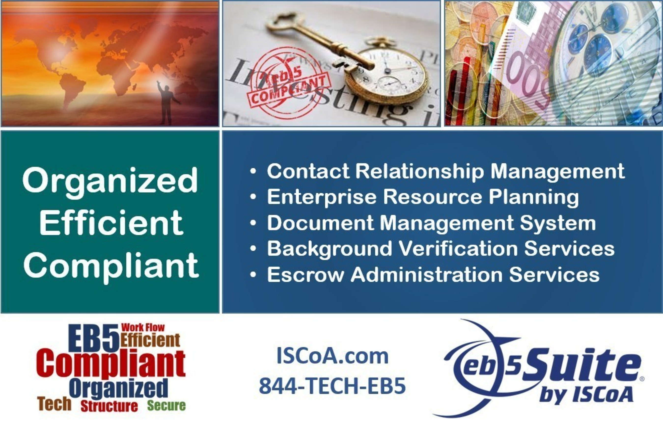 EB5 Regional Centers use EB5 Suite to organize investor materials and stay compliant with government regulations.