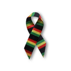 #TackleEbola ribbon Credit: The Doctors/Stage 29 Productions