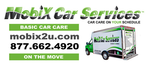 Mobix is the First to Go Mobile Delivering 11 Basic Car Care Services to Any Location